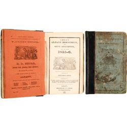 Child's Albany Directory and City Register for the Years 1835-6  82853