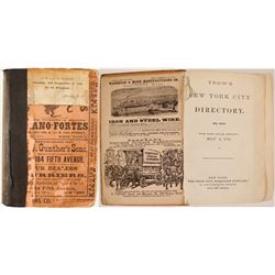 Trow's New York City Directory, 1881  82942