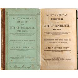 Daily American Directory of the City of Rochester for 1847-8  82950