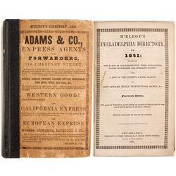 McElroy's Philadelphia Directory for 1851  82959