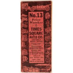 Times Square Auto Co. Catalog (cars to parts)  105774