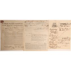 Early Shipping Documents  108592