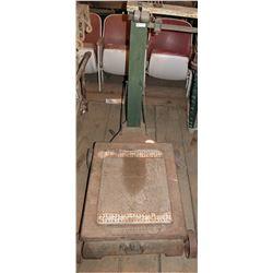 Vintage Fairbanks Platform Rolling Scale  108350