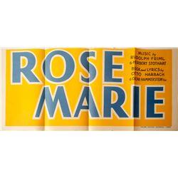 Rose Marie Movie Pasteup  85172