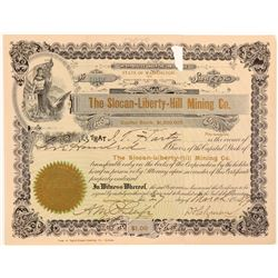 Slocan-Liberty-Hill Mining Co. Stock Certificate  106810