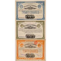 Alaska United Gold Mining Stocks (3)  108195