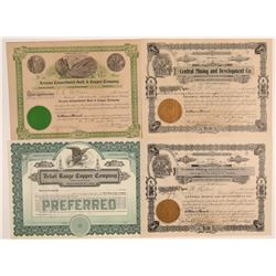 Winkelman, Gila County Mining Stock Collection  106791