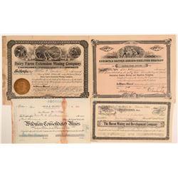 Unusual California Mining Stocks (4)  105892