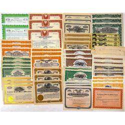 Stock Certificates / All Colorado / 55 Items.  106276