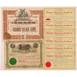 Thunder Mt., ID Mining Stocks (2)  108172