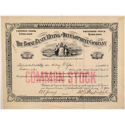 Boise Basin Mining & Development Co Stock  108163