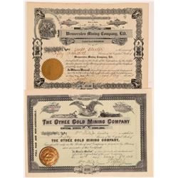 Idaho Mining Stocks (2)  108171