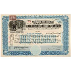 Deer Creek Gold MC Stock  109525