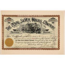 Pearl Silver MC Stock  109510