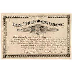 Legal Tender MC Stock  109522