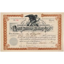 Lord Nelson MC of Montana Stock  109527