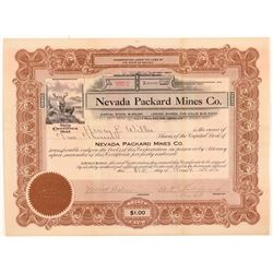 Nevada Packard MC Stock  108179