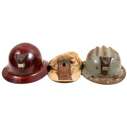 Miners Helmets / 3 Items.  106292
