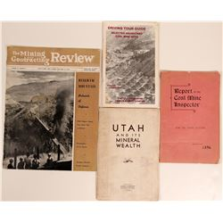Utah Coal and Mineral Publications (4)  108200