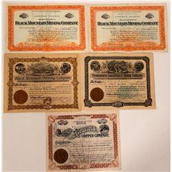 Magdalena, Mexico Mining Stock Certificates  107534