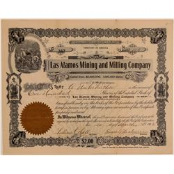 Las Alamos Mining & Milling Co. Stock Certificate  106665