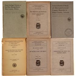 Mining Books / U.S.G.S./ 6 Items.  109685