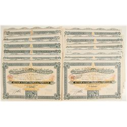 Charbonnages de Millau Bond Certificates  81802