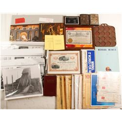 Mining Antiques and Collectibles Box  87170