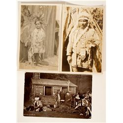Three Indian Post Cards  100531