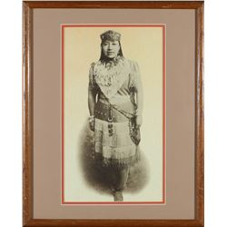 Framed Print of Sarah Winnemucca  87638