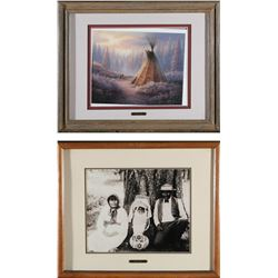 Washoe Indians Framed Prints  87734