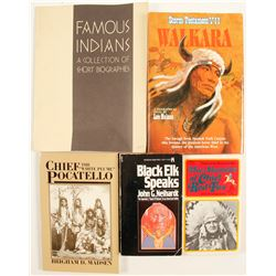 Native American Accounts Books (4)  86221