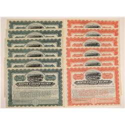Boston Elevated Railway Company Bonds  107413