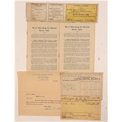 Ephemera from 4 Different Nevada Railroads  107401