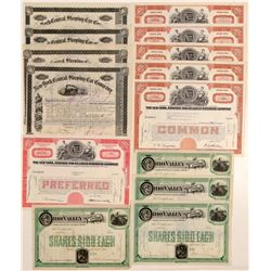 New York Related Rails Stock Certificates (11)  105797