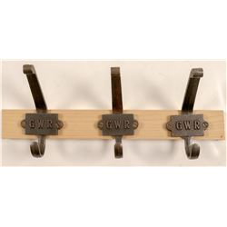 Hat n Coat  Hooks /  Great Western Railway  106273