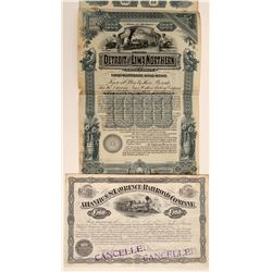 Great Lakes Region Railroad Stock & Bond  107415