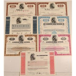 United Airlines Stock Certificate Collection  107417
