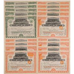 Hudson Motor Car Company Stock Certificates  107419