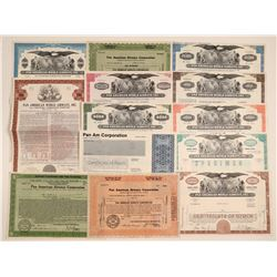 Pan American World Airways, Inc. Stocks & Bonds  106903