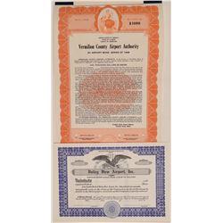 Airport Stock Certificate & Bond  106900