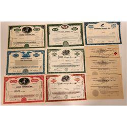 Airways Stock Certificate Group  107552
