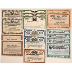 Automobile Stock Certificate Collection (14)  106843