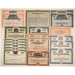 Automobile Stock Certificate Collection (19)  106842