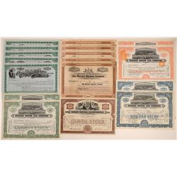 Automobile Stock Certificate Collection (Durant, Hudson, Mercury, Ohio) (17)  106840