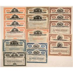 Automobile Stock Certificate Collection: Nash, Peerless, Packard (16)  106853