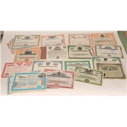 Miscellaneous Air Stock Certificates  107548