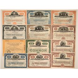 US Automobile Stock Certificate Collection (12)  106852