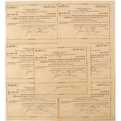 Ferncliff Coal Company Stock Certificates  57414
