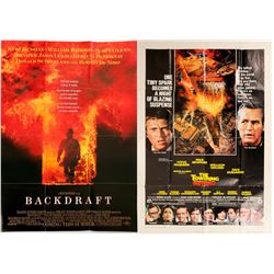 Fire Related/ Movie Posters / 2 items.  109650